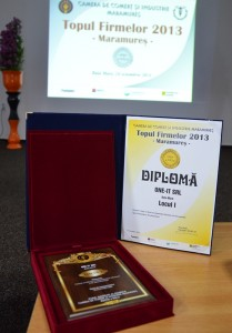 Diploma One-IT locul 1